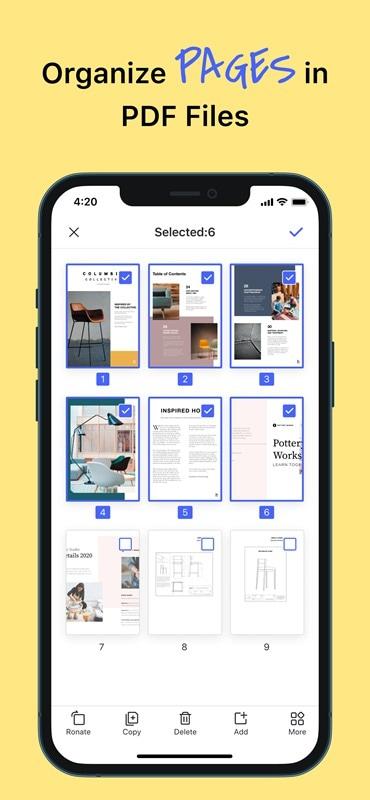 seite aus pdf auf ipad extrahieren