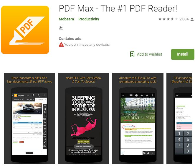 best pdf annotator android