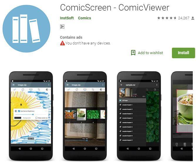 cbr zu pdf converter android