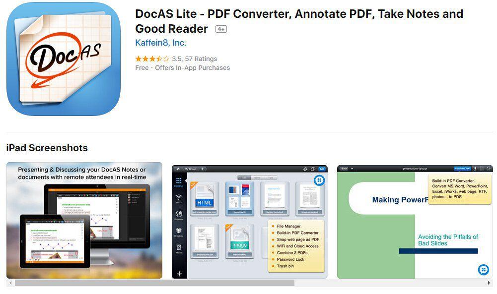 converti rtf in pdf iphone ipad