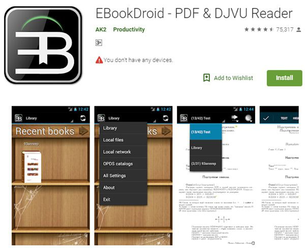 djvu zu pdf converter kostenloser download für android