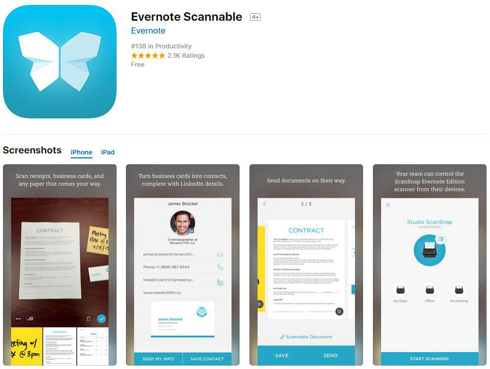 pdf iphone приложение
