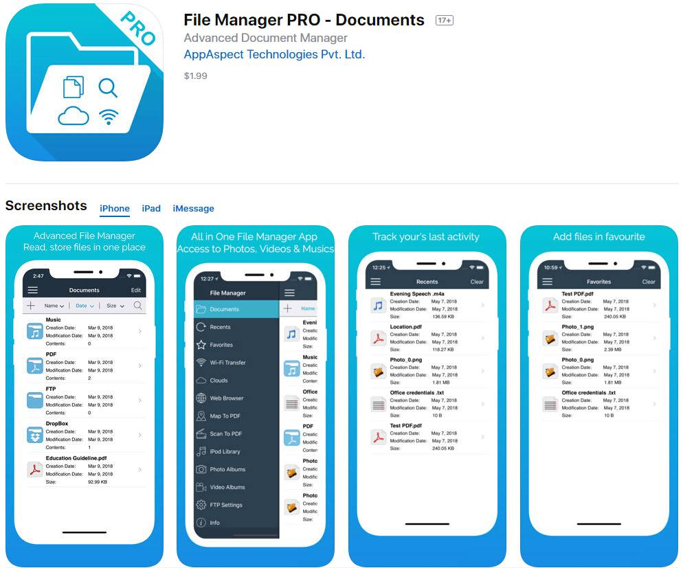 PDF Creator Apps for iPhone