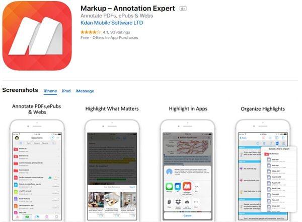 app que permite fazer anotações no pdf