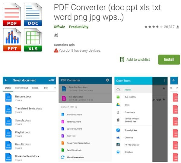 pdf converter zu excel