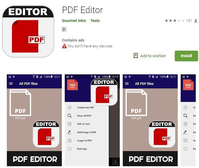 editor de pdf para android