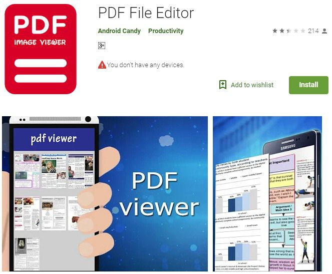 pdf editor for android
