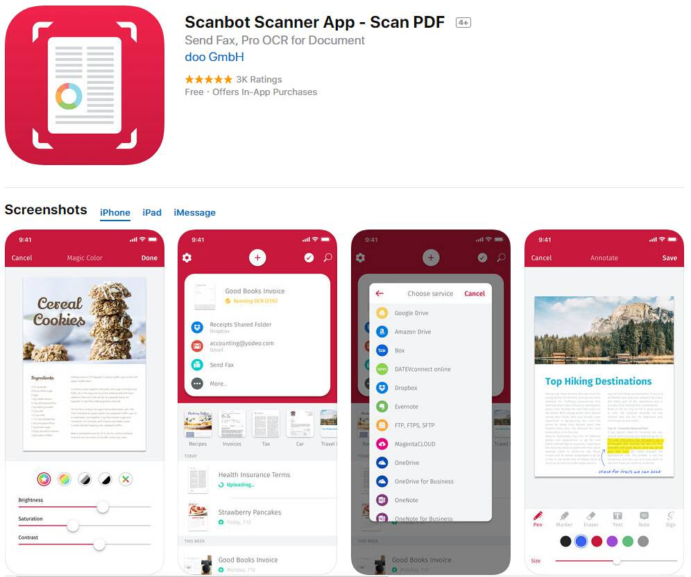 Top 5 Free Photo To Pdf Apps