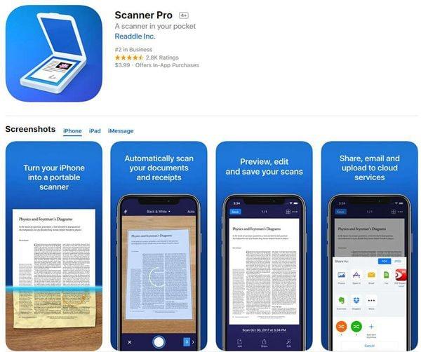 converti jpg in pdf su ipad