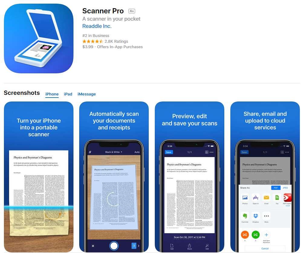 пдф приложение айфон
