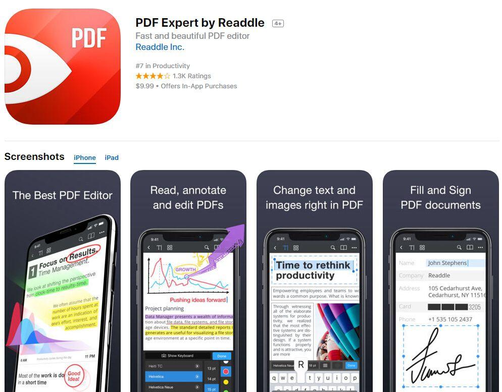redact pdf on ipad