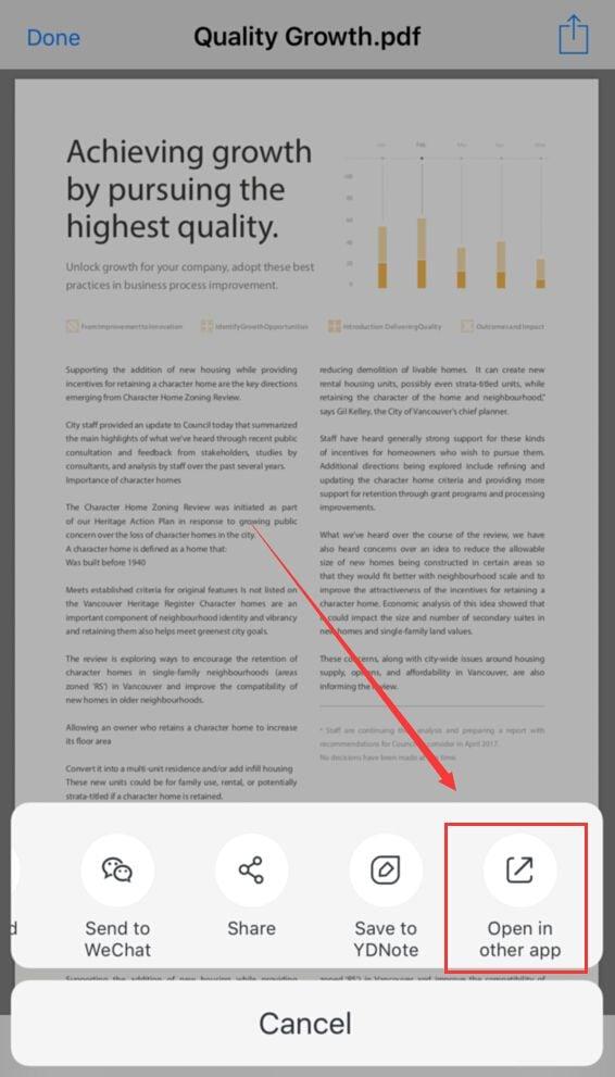 wie sie pdf-dateien auf dem iphone speichern
