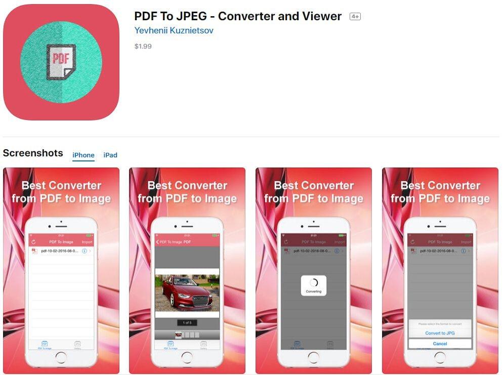 pdf в jpg конвертер