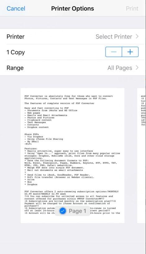 text in pdf umwandeln iphone