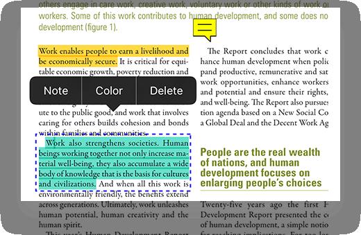application annotation pdf ipad