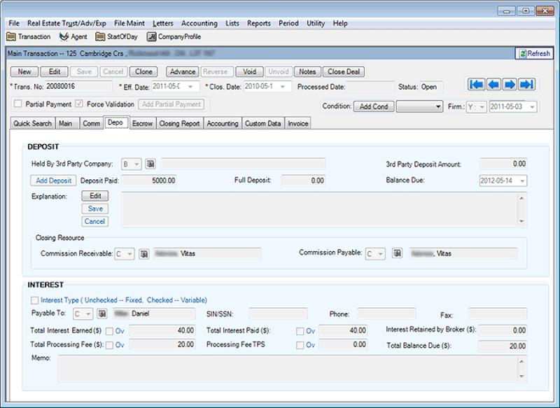 Buchführungs-Software für Immobilien