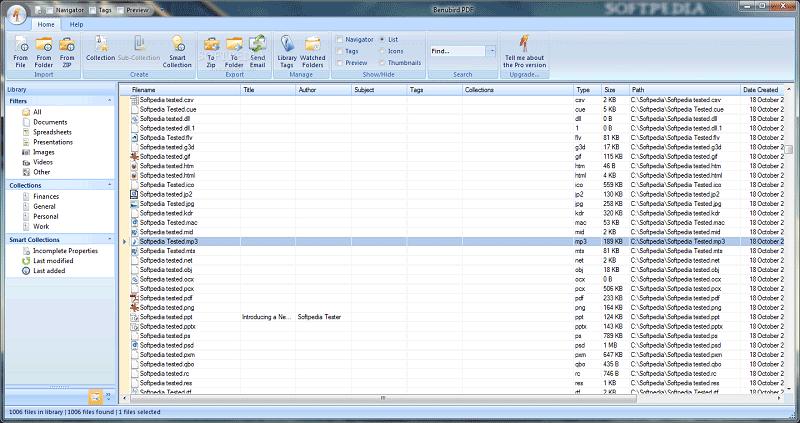 PDF Grafik Organizer
