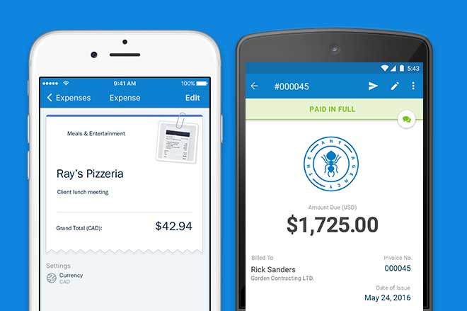 billing app for iOS