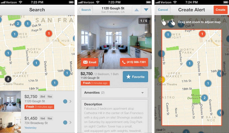 best real estate apps for agents