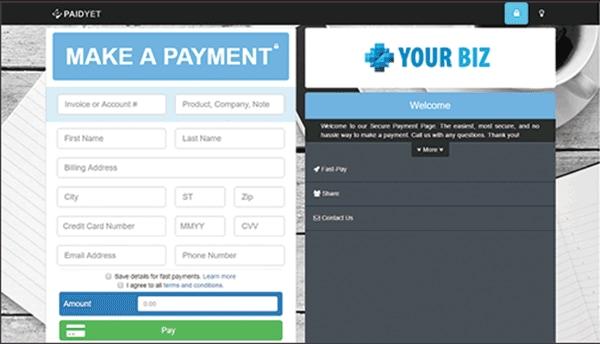 web based billing software