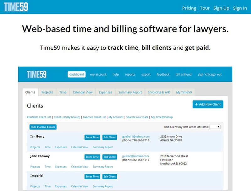 legal billing software reviews