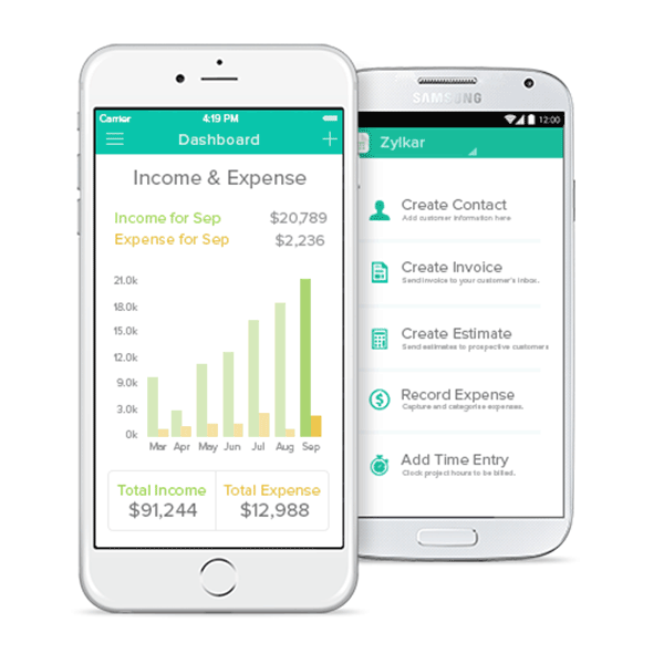 billing app for android