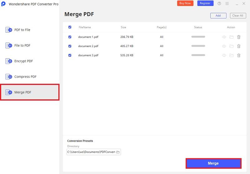 merge ppt to pdf