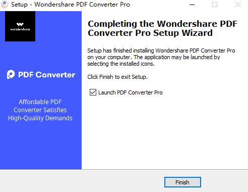 installazione pdf converter pro