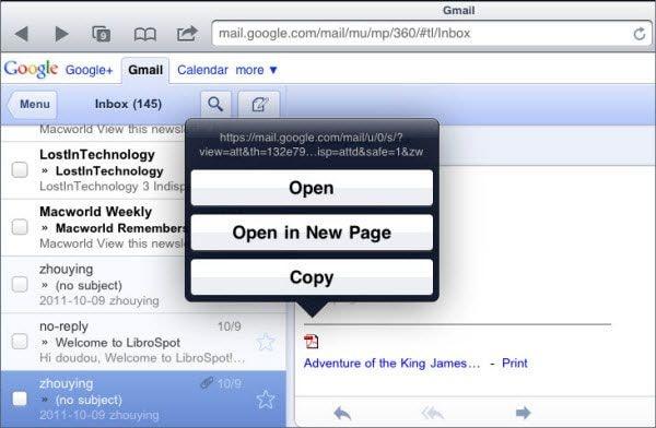 salvar pdfs no ipad