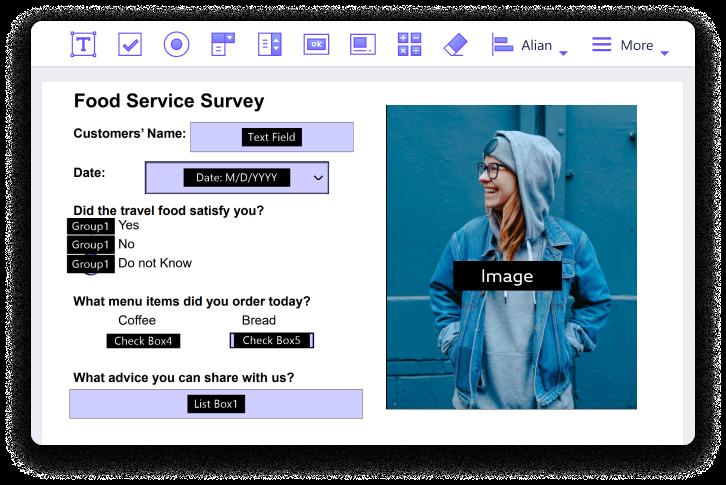 Personnaliser le champ de formulaire PDF à remplir