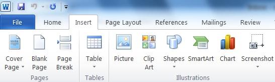 agregar pdf imagen a word