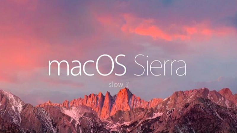 sierra working slow