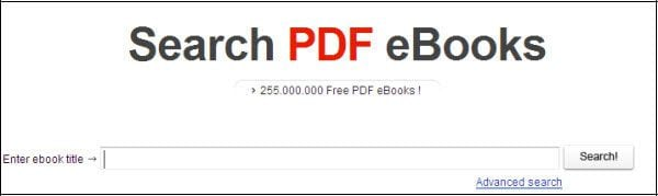 moteur de recherche pdf