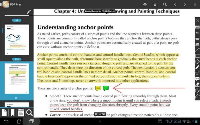 Lettore di PDF per iPad