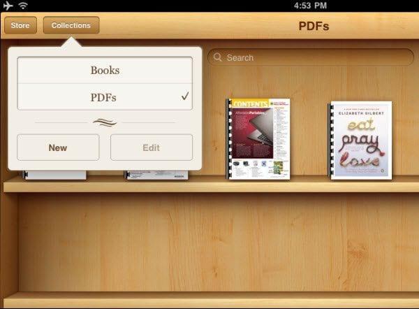 leia pdf em ibooks