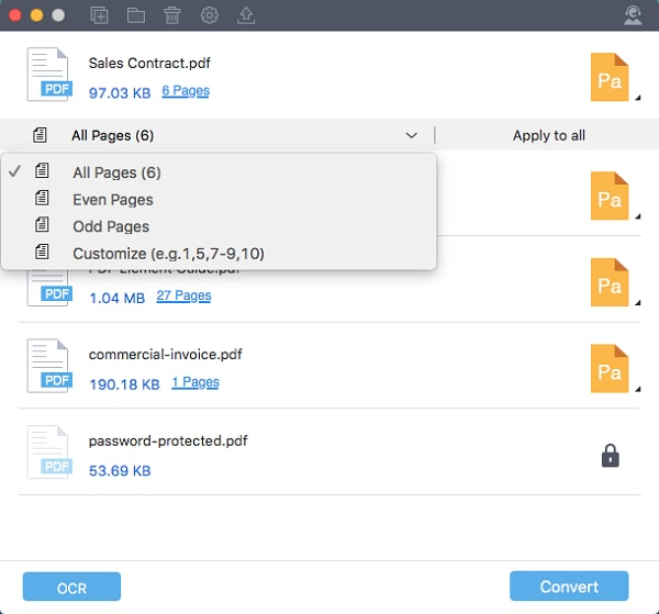 PDF in iWork Pages konvertieren