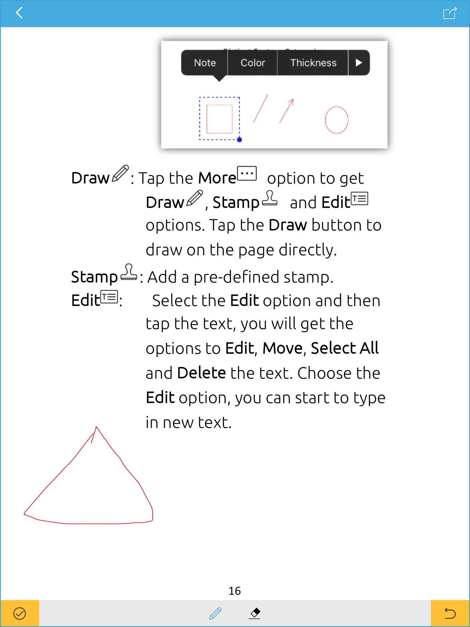 PDF-Schreiber für iPad