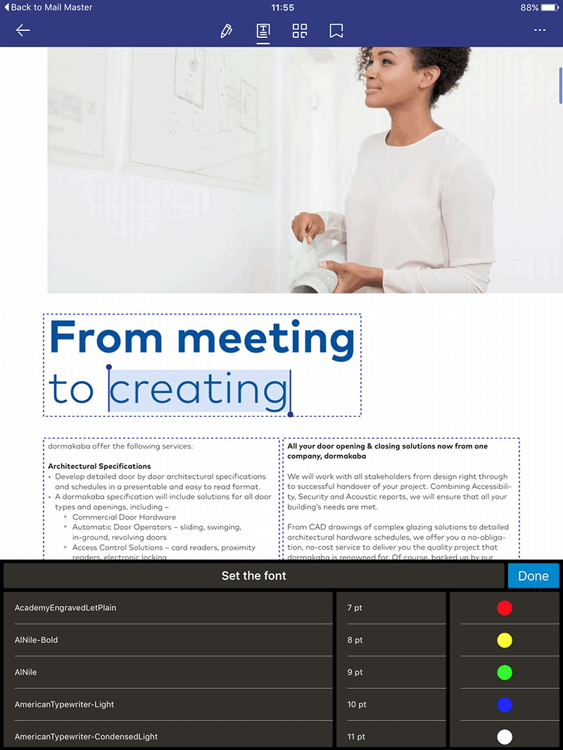 ipad marcature pdf