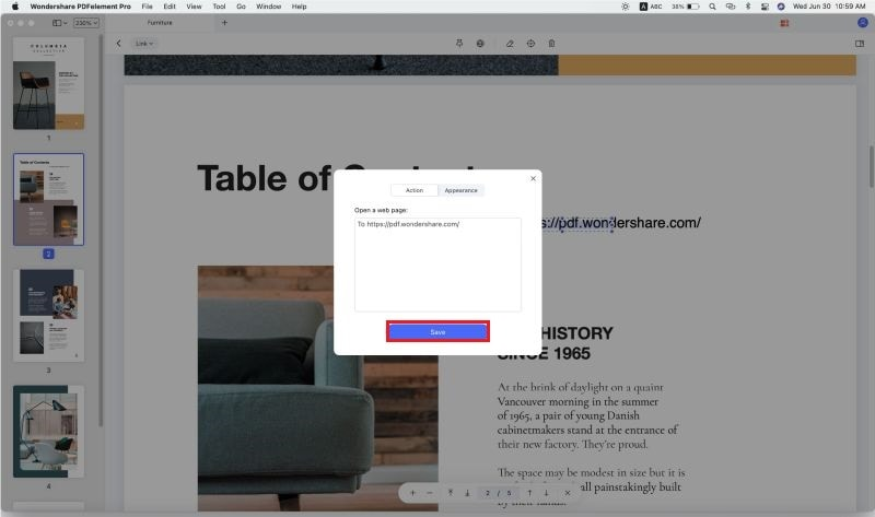 how to hyperlink on mac