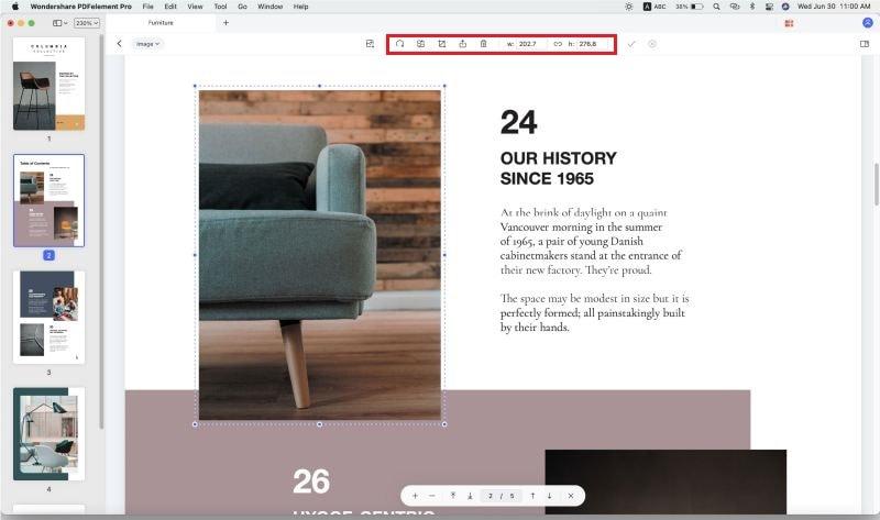 edit pdf images on mac