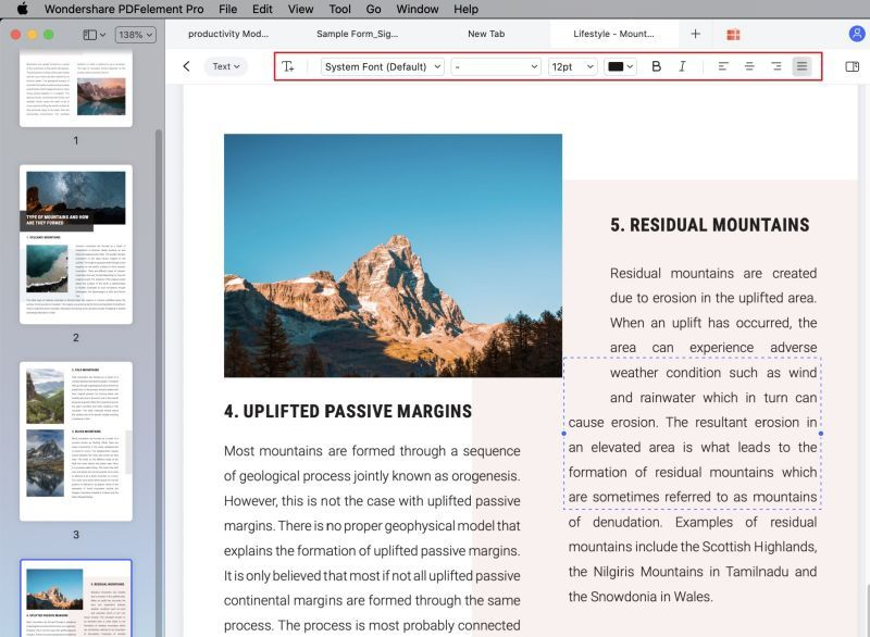 how to add text to a pdf mac