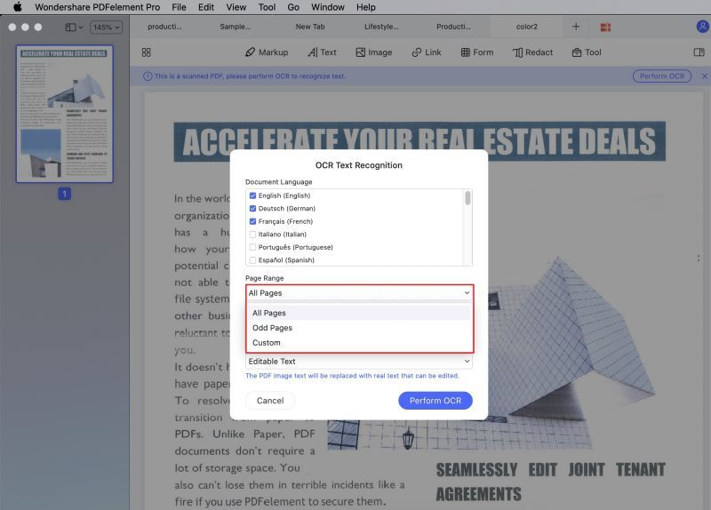 how to save screenshot as pdf on mac