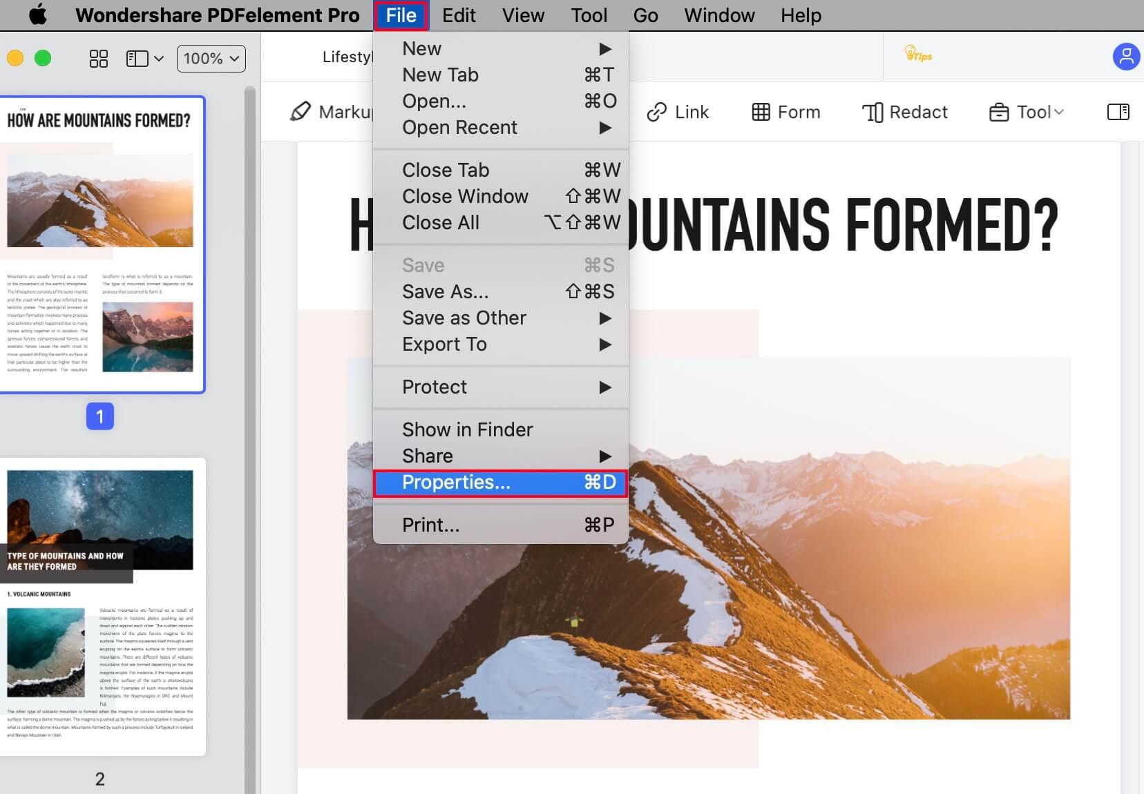 remove metadata from pdf mac