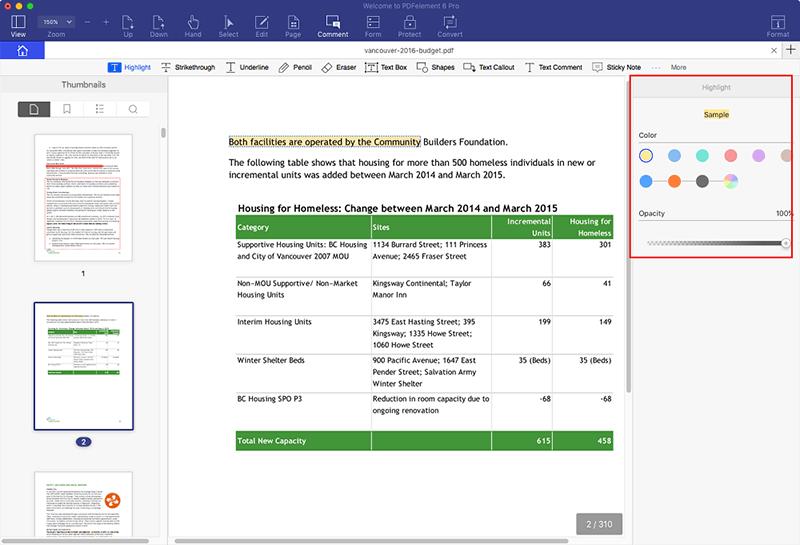 resaltar texto en pdf en mac