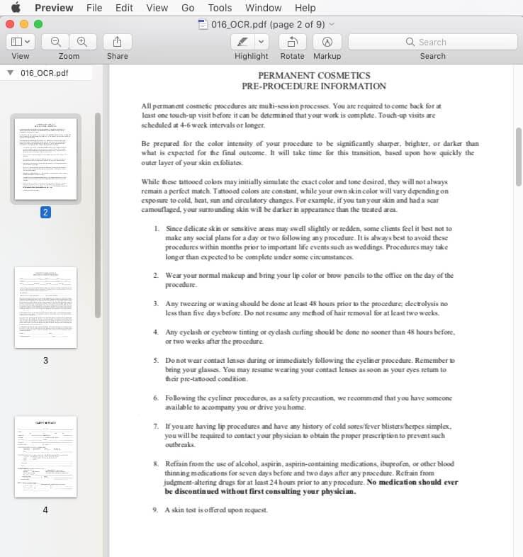 esporta pdf in keynote