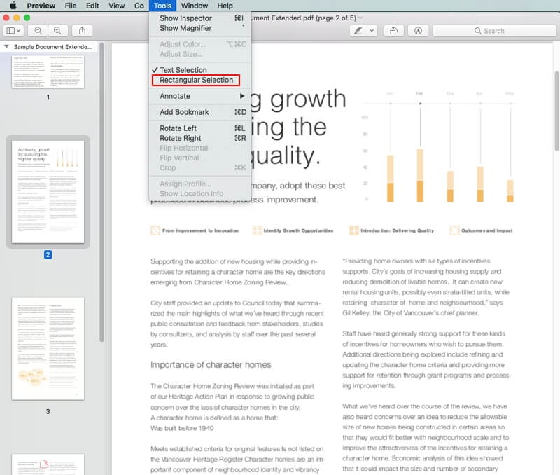 how to crop a pdf on mac