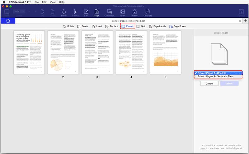 extract pdf