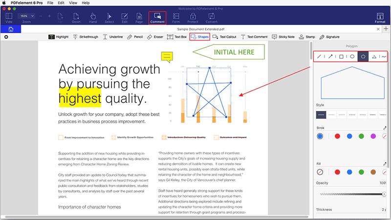 mac draw on pdf
