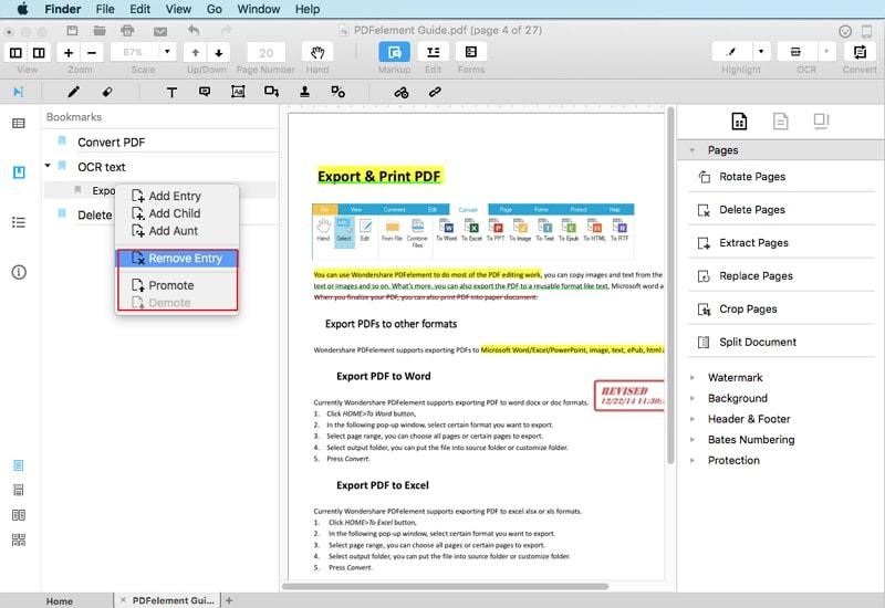 editar bookmark