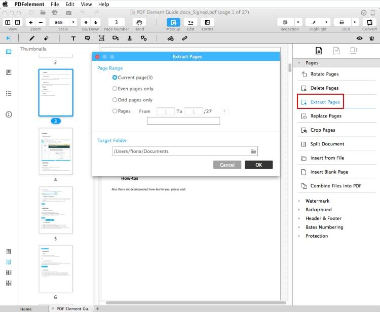 extrair pdf